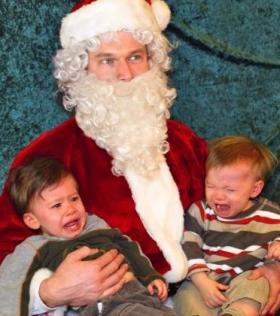 santa toddlers